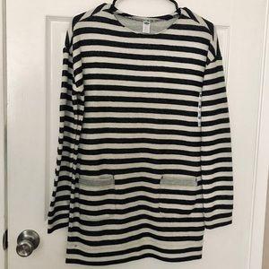 Old Navy Striped Dress Girls Size XL New